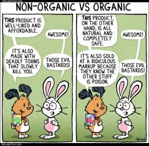 Organic vs non