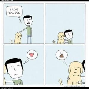 I love you dog
