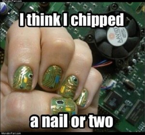 Chipped a nail