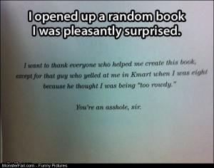 Pics Random Book