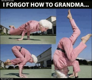Forgot how to grandma