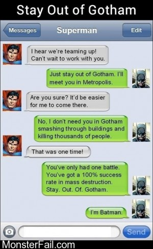 Stay Out Of Gotham