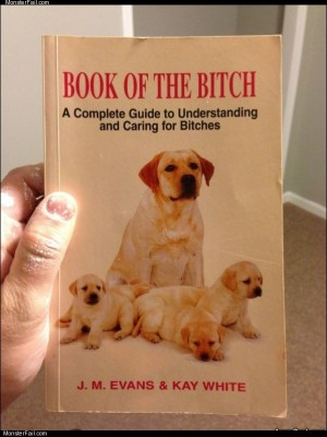 Book of the bitch