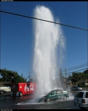 Sprung a leak