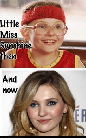 Puberty Win Little Miss Sunshine