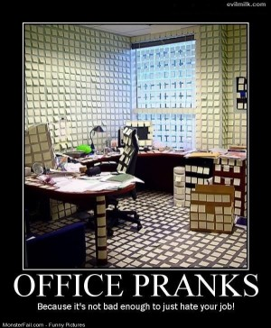 Pics Office Pranks