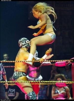 Sometimes wrestling