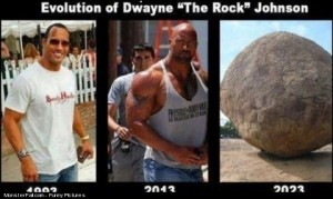 The Evolution Of Dwayne Johnson