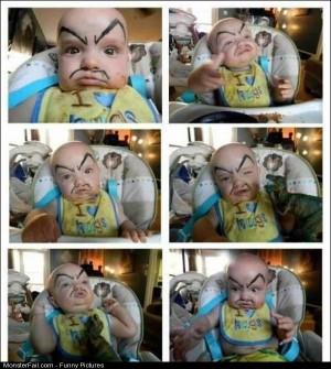 Pics One Evil Baby