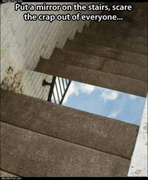 Mirror prank