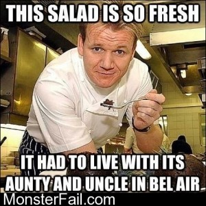 Pleased Gordon Ramsey