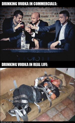 Pics Drinking Vodka