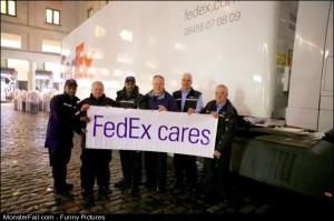 Pics Fedex Cares