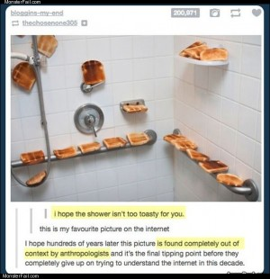 Toasty shower