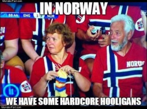 Norway hooligans