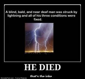 Pics Struck By Lightning