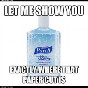 Paper cut finder