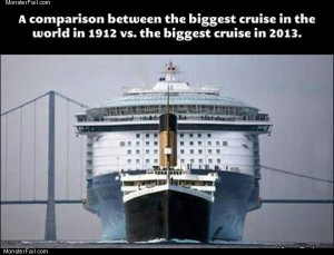Biggest cruise ships