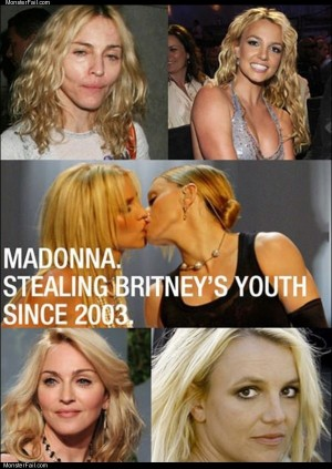 Madonna and britney