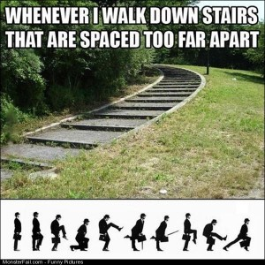 Pics Spaced Out Stairs