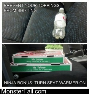 How To Transport Your Pizza