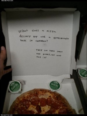 Pizza guy joke