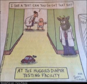 Pics Testing Diapers