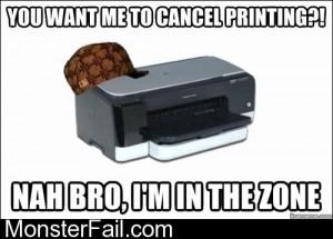 Scumbag Printers