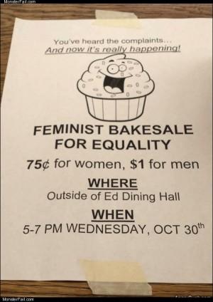 Feminist bakesale