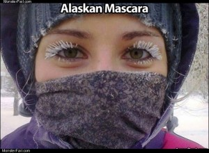 Alaskan mascara