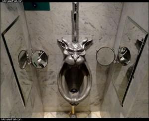 Weird urinal