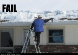 Snow Cleaning FAIL