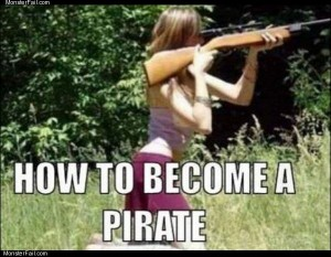 Pirate training