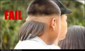 Hair Style Fail