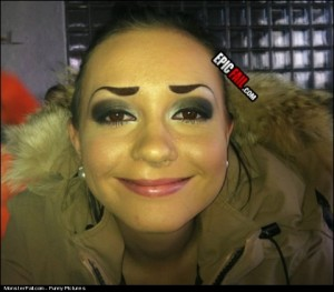 Monster Eyebrows FAIL