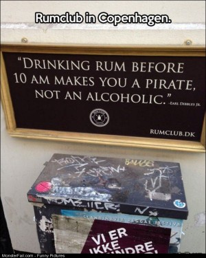Pics Drinking Rum