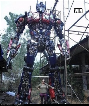 WIN Optimus Prime