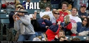 Baseball Bat FAIL