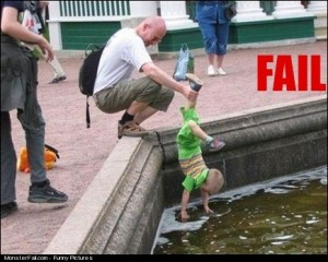 Parenting FAIL Hey Son Can You See The Fishes Now