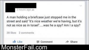 Am I A Spy
