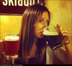 Pics Girls Who Like Beer