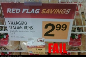 Sale FAIL