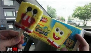 Vs Reality Fail Spongebob IceCream