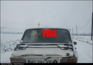Only In Romania FAIL