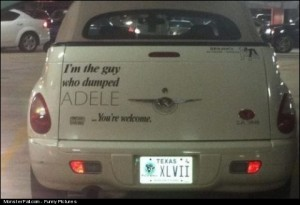 Monster WIN Meet The Guy Who Dumped Adele