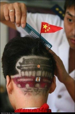 Monster Chinese Hairstyle FAIL