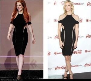 Lindsay Lohan Vs Charlize Theron