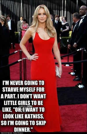 Wise Words From Jennifer Lawrence