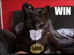 Monster Batman Costume Win