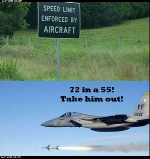 Speed enforced